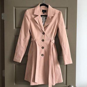 Peach Rain Coat